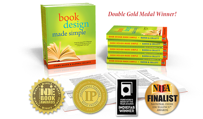 Book Design Made Simple wins double gold medals!