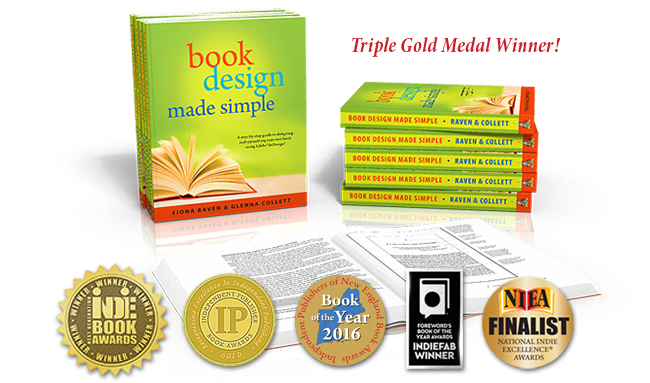 Book Design Made Simple - Triple Gold Medal Winner!