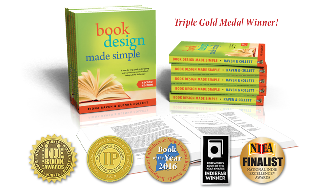 Book Design Made Simple, 2nd Edition, 5 medals!