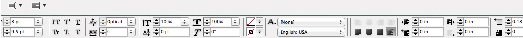 InDesign Control Bar, essential to good book design