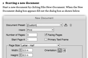 Sample InDesign screenshot