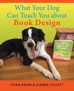 dog on cover of Book Design Made Simple