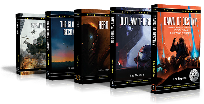 Epic book series by Lee Stephen