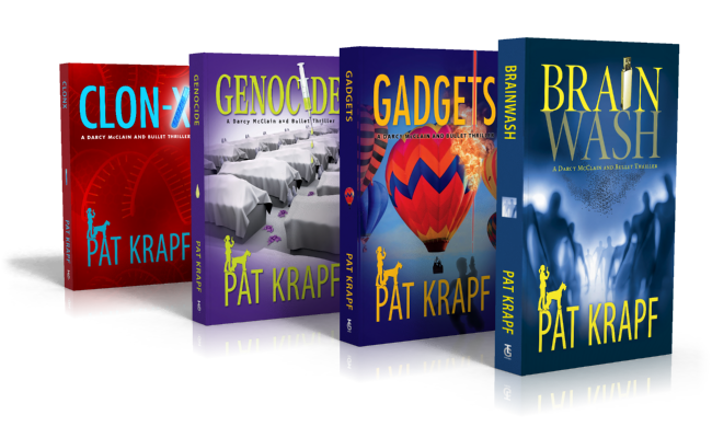 Pat Krapf's Darcy McClain and Bullet Thriller Series