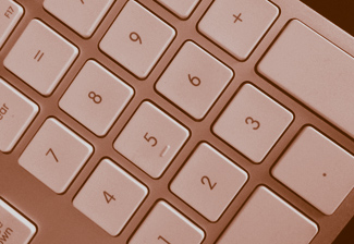 numeric keypad used for InDesign keyboard shortcuts