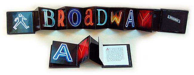 Broadway: sample of book arts