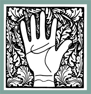 Book arts - Hands