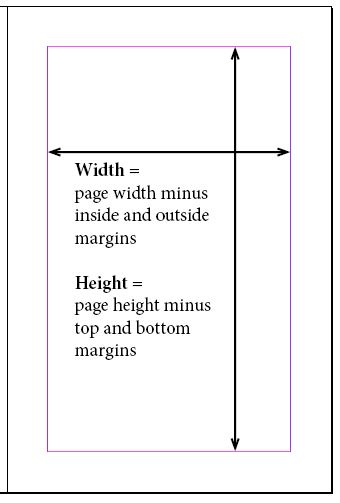 Dimensions for book illustrator