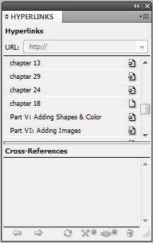 Hyperlinks get lost in InDesign book feature if file name changes