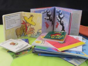 Design a children's picture book such as those shown here.