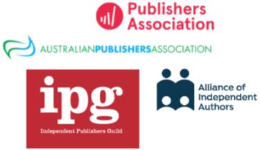 English-speaking countries publishing association logos