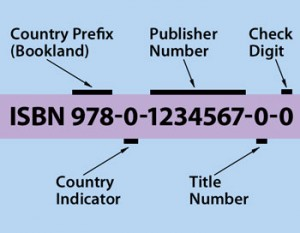 What the ISBN numbers mean.